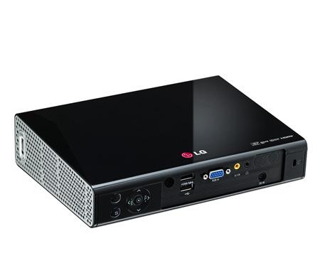 Projetor LG mini PA 1000 Black